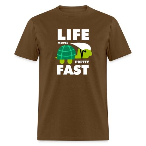 Life moves pretty fast - Men's T-Shirt