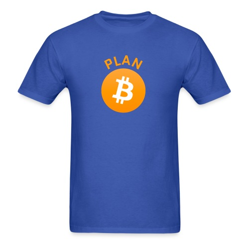 Plan B - Bitcoin - Men's T-Shirt