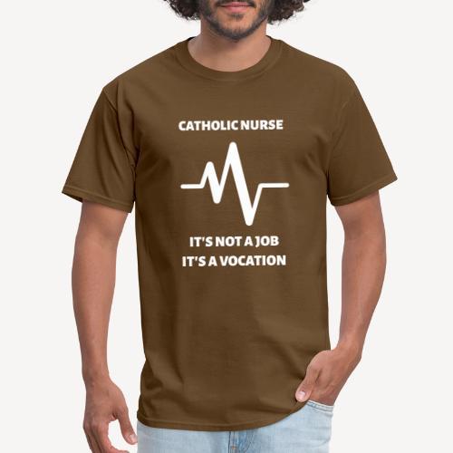CATHOLIC NURSE - Men's T-Shirt
