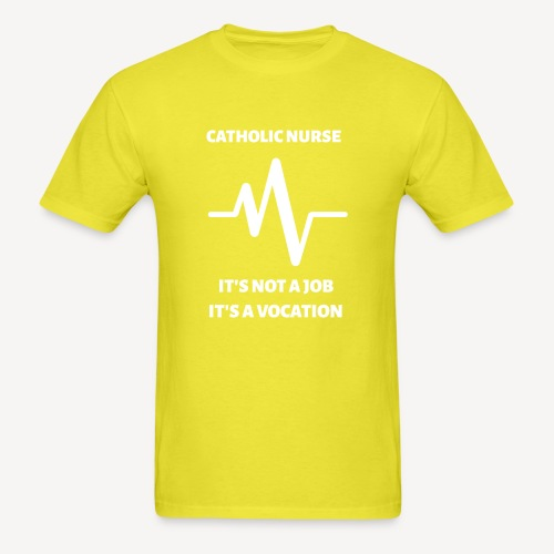CATHOLIC NURSE - Men's T-Shirt