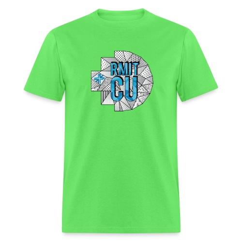 RMITCU Hoodie Logo Blue - Men's T-Shirt