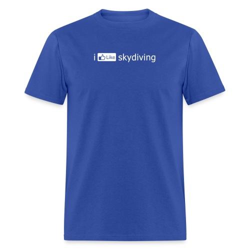 i FB like skydiving - Men's T-Shirt