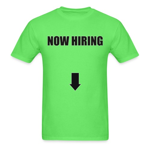 nowhiring - Men's T-Shirt