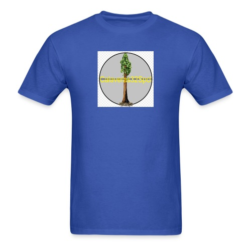 Giant Sequoia Logo - Men's T-Shirt