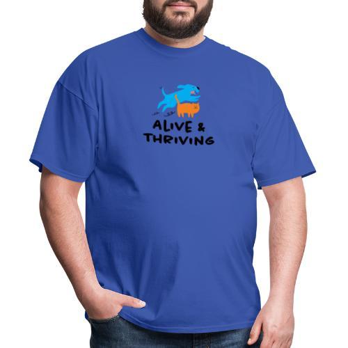 Alive Thriving Animal Behavior Program - Men's T-Shirt