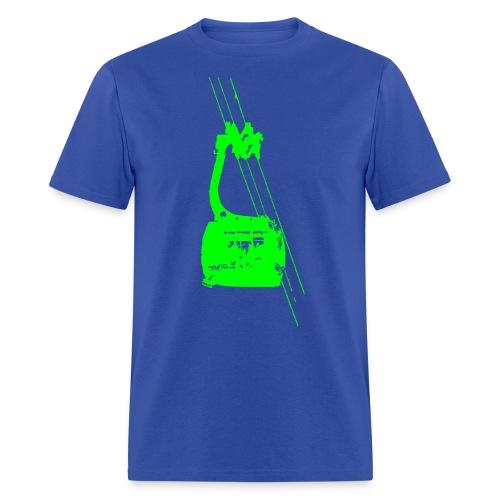 Green Tram - Men's T-Shirt