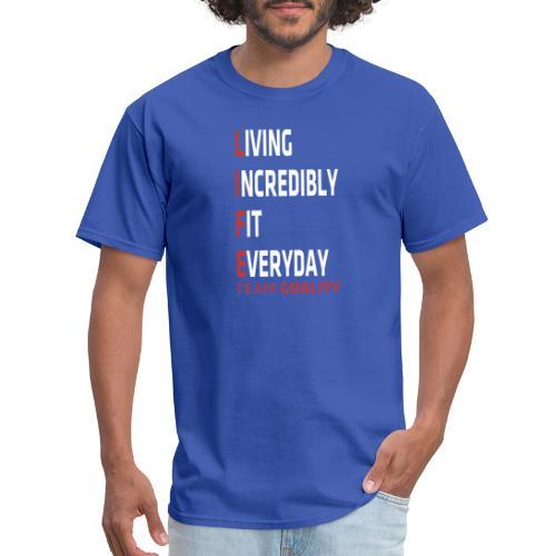 Goality Life Tshirt Red - Men's T-Shirt