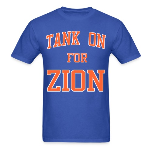 Tank On For Zion - Men's T-Shirt