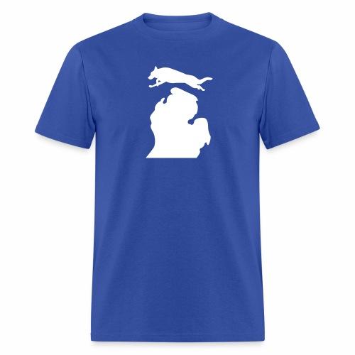 German Shepherd Michigan womens shirt - Men's T-Shirt