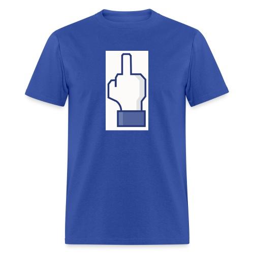facebook middle finger di - Men's T-Shirt