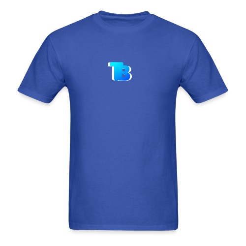 Trublu Overlapping letter Design - Men's T-Shirt