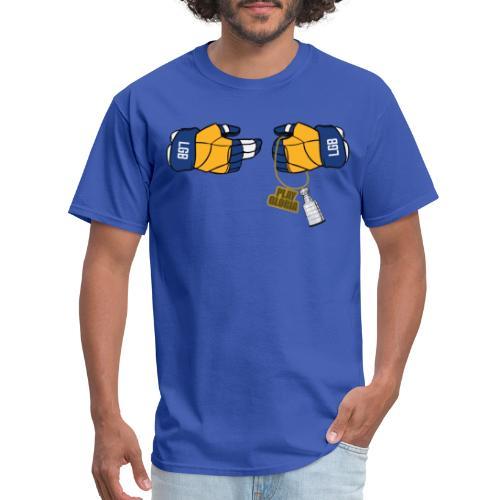 Blues Hockey Podcast - Run the League - Men's T-Shirt