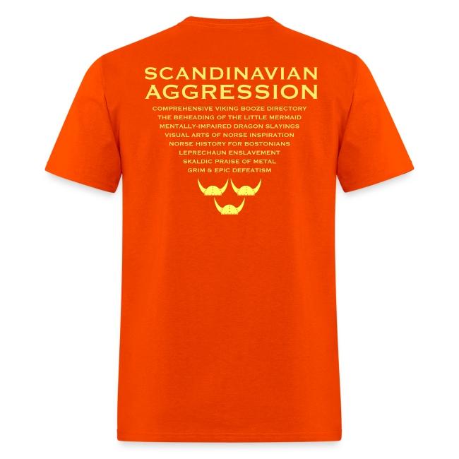 Tre Hjälmar Double-Sided T-Shirt