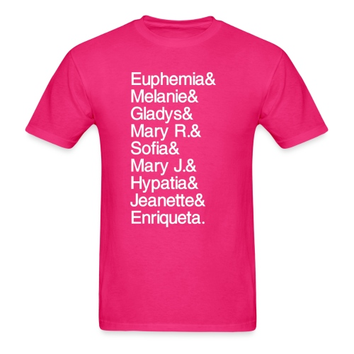 Math Gals 1sts with #MathGals hashtag - Men's T-Shirt
