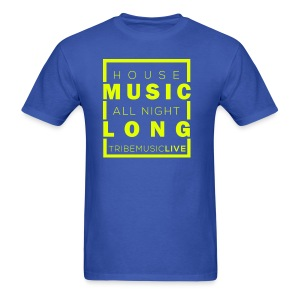 House Music (All night long) - Men's T-Shirt