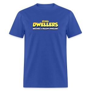 Pixel Dweller Logo - Men's T-Shirt
