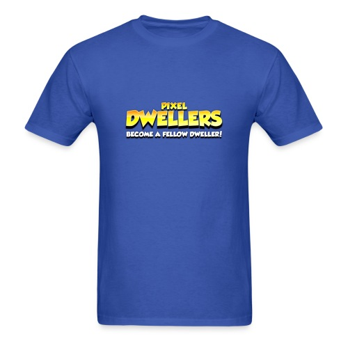Pixel Dweller Logo - Men's T-Shirt