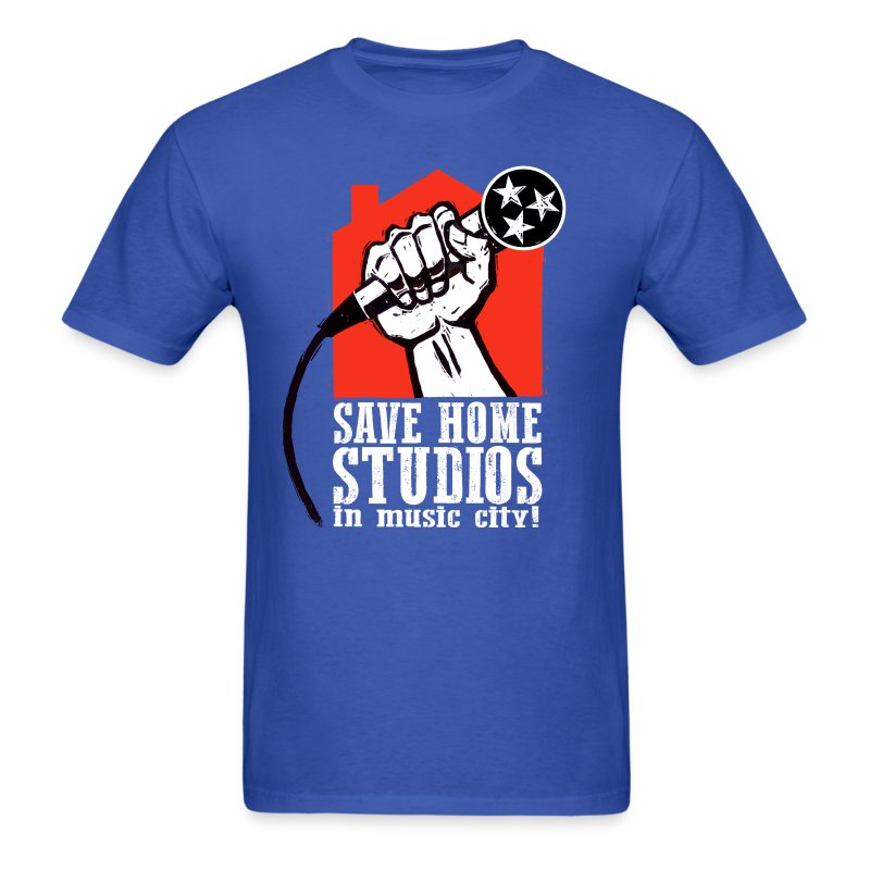 Save Home Studios In Music City - Men's T-Shirt