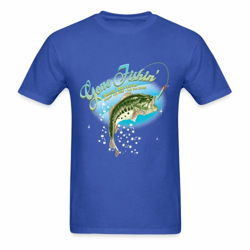 fishing base revise - Men's T-Shirt