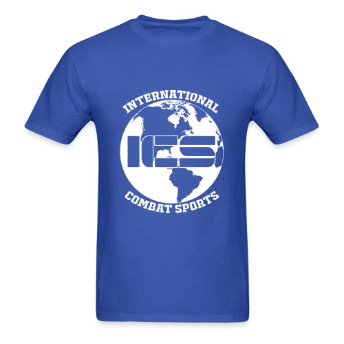 ICS Logo Blue - Men's T-Shirt