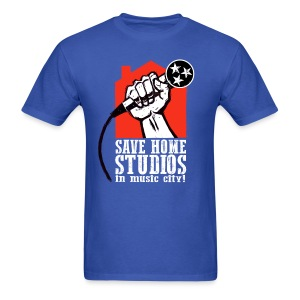 Save Home Studios In Music City - Men's T-Shirt