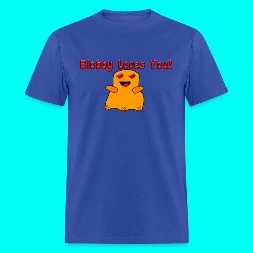 Blobby Loves You Shirt - Men's T-Shirt