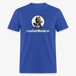 LoneVaultWanderer - Men's T-Shirt