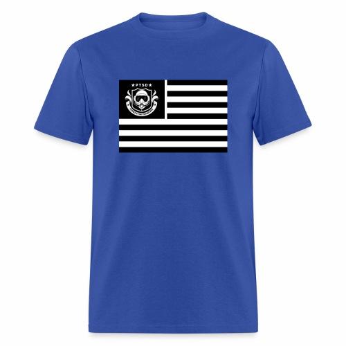 PTSD Flag - Men's T-Shirt
