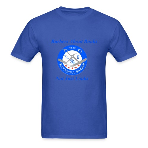 Barbershop Books - Men's T-Shirt