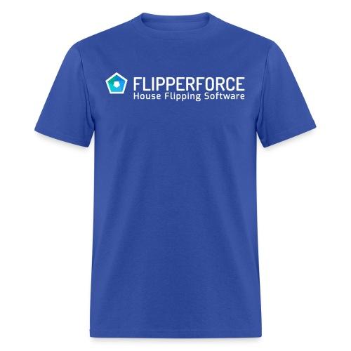 Flipper Force Logo White - Men's T-Shirt