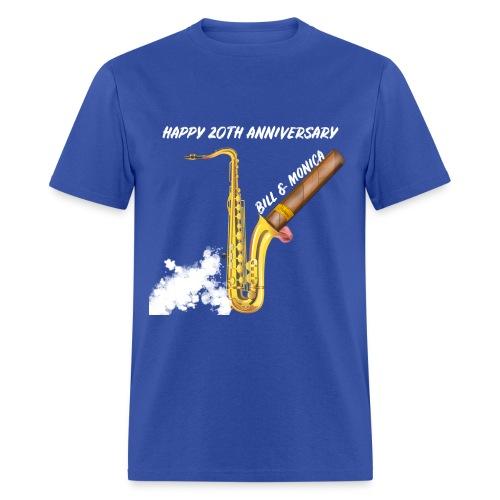 Happy 20th Anniversary Bill and Monica!! - Men's T-Shirt