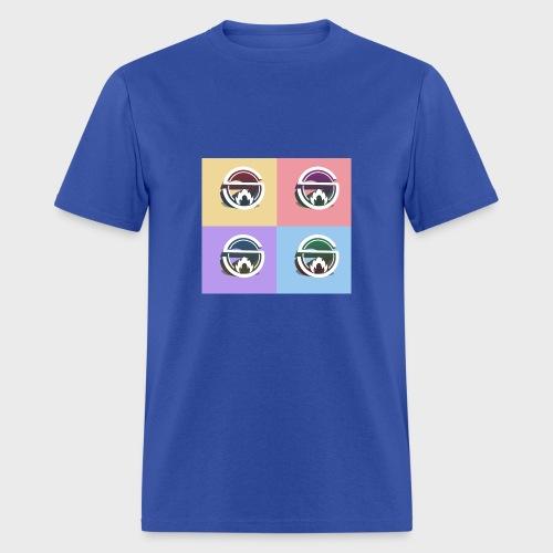 Slow Burn Faces - Men's T-Shirt