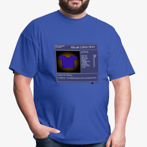 Gamer StatGear Blue Cotton Shirt - Men's T-Shirt