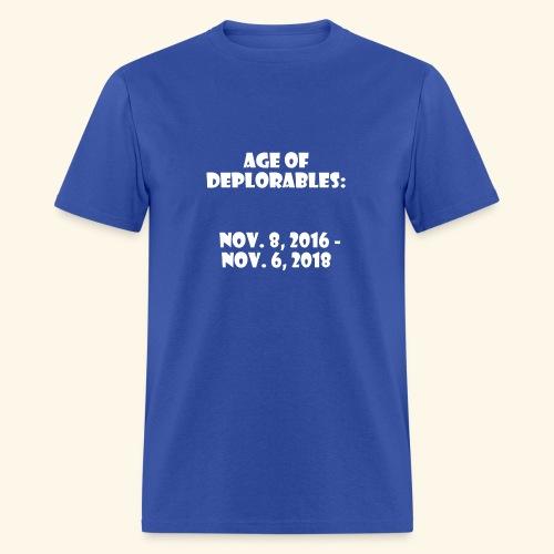 Age of Deplorables - Men's T-Shirt