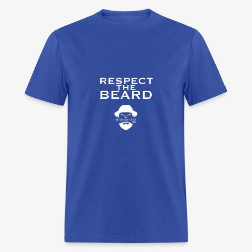 Respect the beard - Men's T-Shirt