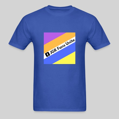 JGR Fans Unite Retro Logo - Men's T-Shirt