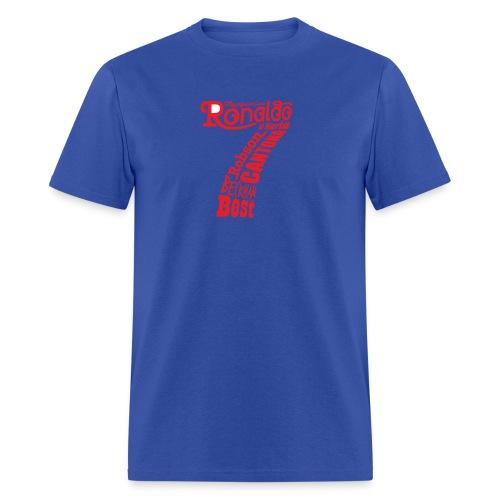 man utd magnificent sevens - Men's T-Shirt