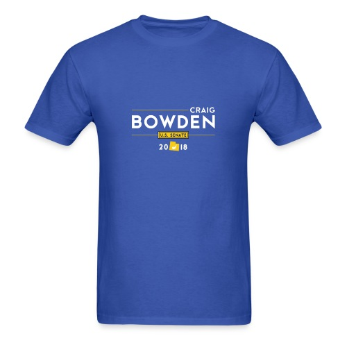 Craig Bowden - US Senate - Men's T-Shirt