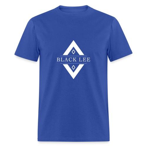 Black Lee Transparent Logo White T SHIRT - Men's T-Shirt