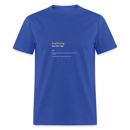 laylaxing gold - Men's T-Shirt