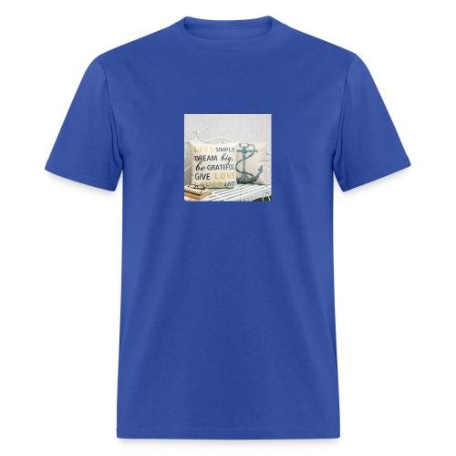 live laugh and love bag - Men's T-Shirt