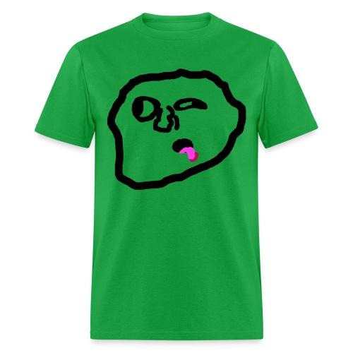 spreadshirttrollfacewithbarbecue - Men's T-Shirt