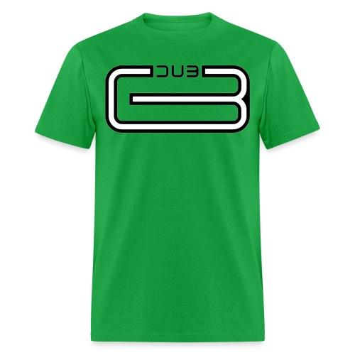 Dubline black - Men's T-Shirt