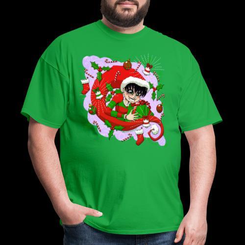 Christmas 2020 VioleNt Streak - Men's T-Shirt