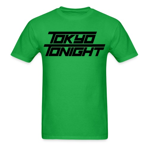 Tokyo Tonight Font Wh - Men's T-Shirt