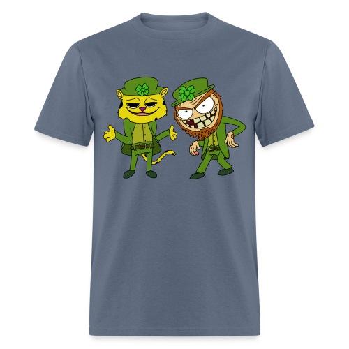 Leopardchaun Leperchaun - Men's T-Shirt