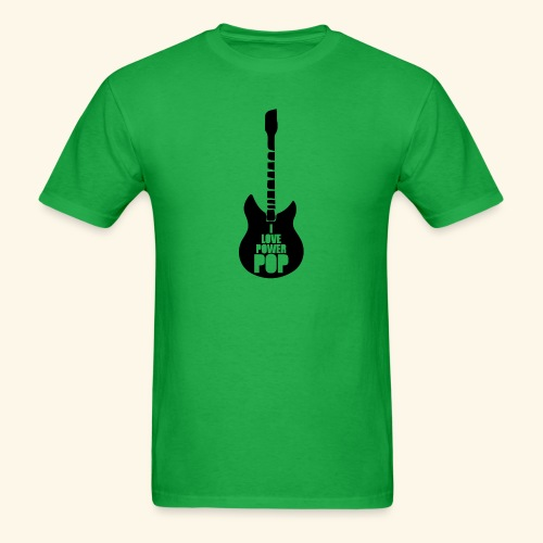 I Love Power Pop Guitar - Men's T-Shirt