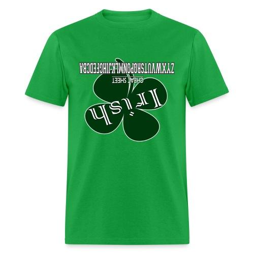 Irish Cheat Sheet - Men's T-Shirt