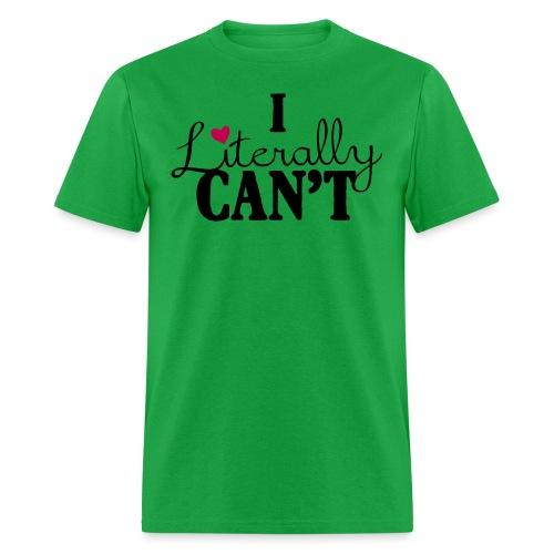 literally2 - Men's T-Shirt