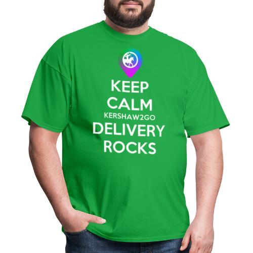 Keep Calm KC2Go Delivery Rocks - Men's T-Shirt